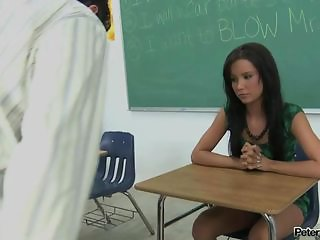 Sweet brunette teen taking huge load on her face in clasroom from a lucky teacher POV style fuck, getting fucked in each hole and taking a load of sperm on her face, big cum facial, latina fucks a hard cock, asian slut gets jizzed all over, dru