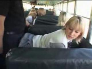 Bus Clothed Public Teen