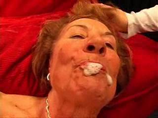 Crazy Old Woman Fucking Dicks