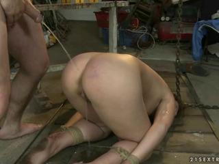 Slavegirl getting punished pretty hard by reno78