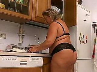 Kitchen Lingerie Mature