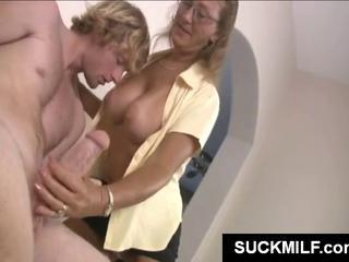 Hottie Milf And Her Daughter Share A Hunky Guy's Erect Penis
