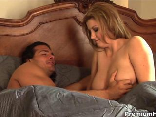 Hot and horny morning sex with stunning big tits Sara Stone