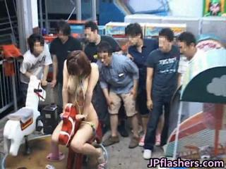 Asian Funny Japanese Public Teen