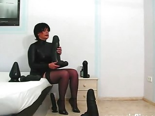 Dildo  Stockings Toy