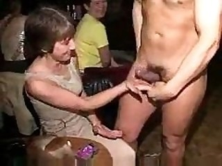 Amateur  Handjob Mature Party