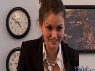 Allie Haze Knew That Gorgeous Brunette J...