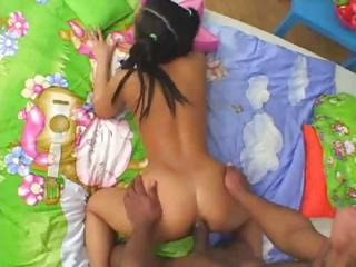 Anal Asian Doggystyle Hardcore Interracial Pigtail Teen