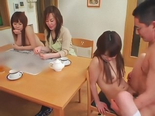 Asian Daddy Daughter Family Japanese Mom Teen