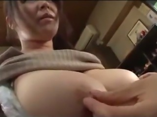 Fat Busty Milf Getting Her Tits Rubbed Hairy Pussy Licked By Young Guy On The...