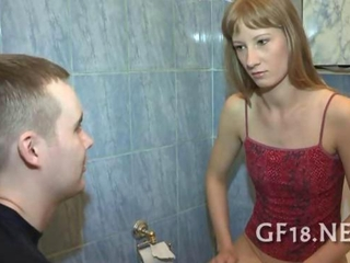 Amateur Girlfriend Russian Teen Toilet