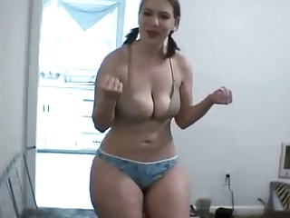 Amateur Big Tits Lingerie Natural Pigtail Teen