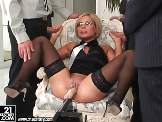 Szilvia Lauren the babe in office..