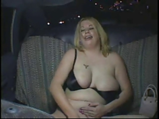Big Tits Car Masturbating Natural Teen