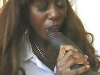 Hot Ebony Nurse Black Cat Fucked And..