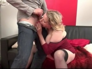 French Huge-Boobs-Milf fucked wits young Arab