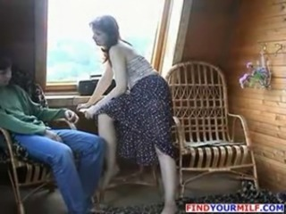 Experienced Mom Fucked by Son part 2 free
