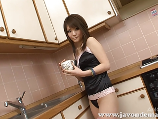 Asian Japanese Kitchen Lingerie Teen