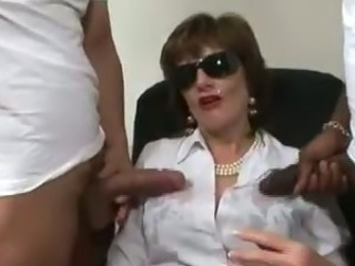 British mature fetish cumshot