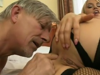 Aleksa Diamond open wide her legs and acquire smutty cleft take up with the...
