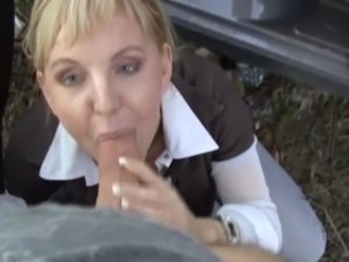 Amateur Blowjob Clothed Outdoor Pov
