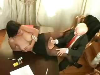 Mature Office Pantyhose