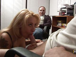 Nasty Rebecca Steel Loves Teasing A Stiff Fuck Stick