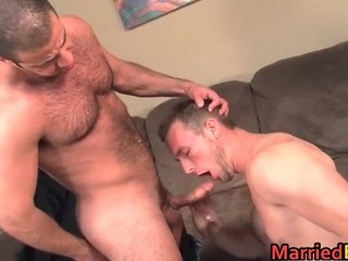 Hairy Straight Guy Gets His Ass Fucked Part2