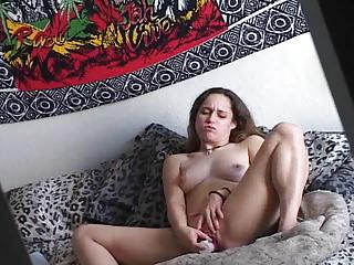 Solo Girl In Bed With Toy In Her Cooch