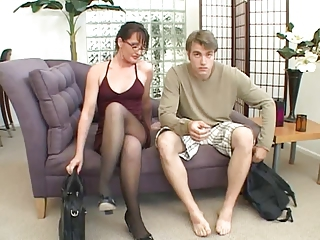 Milf Loves To Play In the matter of A Big Cock