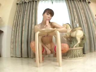 Japanese I Love My Dildo 6