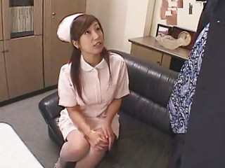 Japanese Nurse fucked by black Part II - Asian sex video -