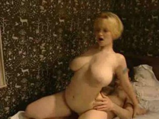 Babe Big Tits Blonde Natural Riding Vintage