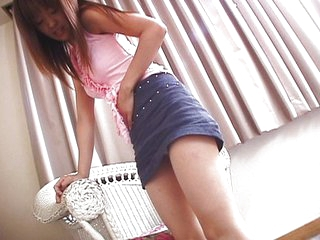 Wet Japanese teen pussy teased well