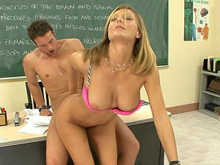 Amazing Big Tits Doggystyle Hardcore  Pornstar School Teacher