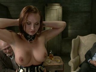 Beauty getting her tit sucked