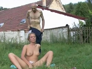 Old and Young Outdoor Teen