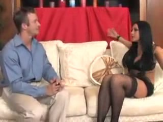Audrey Bitoni very erotic footjob