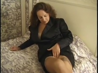 Amateur Amazing Mature  Stockings