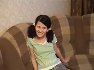 Amateur Brunette Pigtail Russian Teen