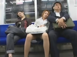 Asian Public Sleeping Upskirt