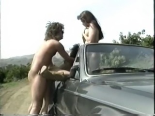 Car Hardcore  Outdoor Threesome Vintage