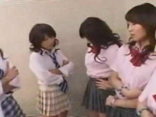 Asian Japanese Skirt Teen Uniform