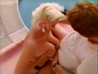 Big Tits Blonde  Natural Pool Tits job Vintage
