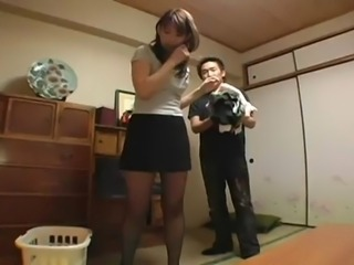 Asian Japanese  Pantyhose Skirt