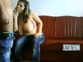 Amateur  Big Tits Blowjob Jeans Natural Teen