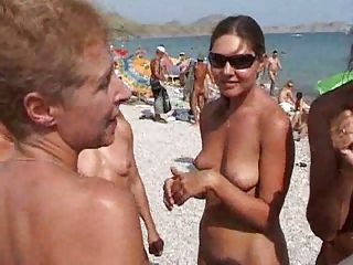Beach Nudist Outdoor Public Teen