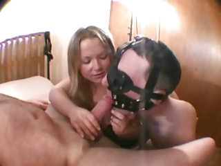 cuckold cum eating
