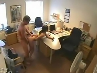 Secretary Fucking Security Camera