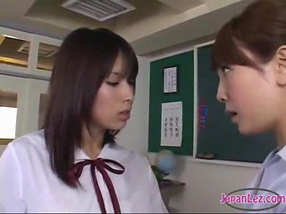 Asian Japanese Lesbian School Teacher Teen Uniform